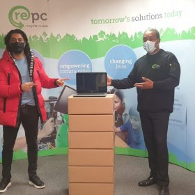 Wowdot and Repc donating laptops